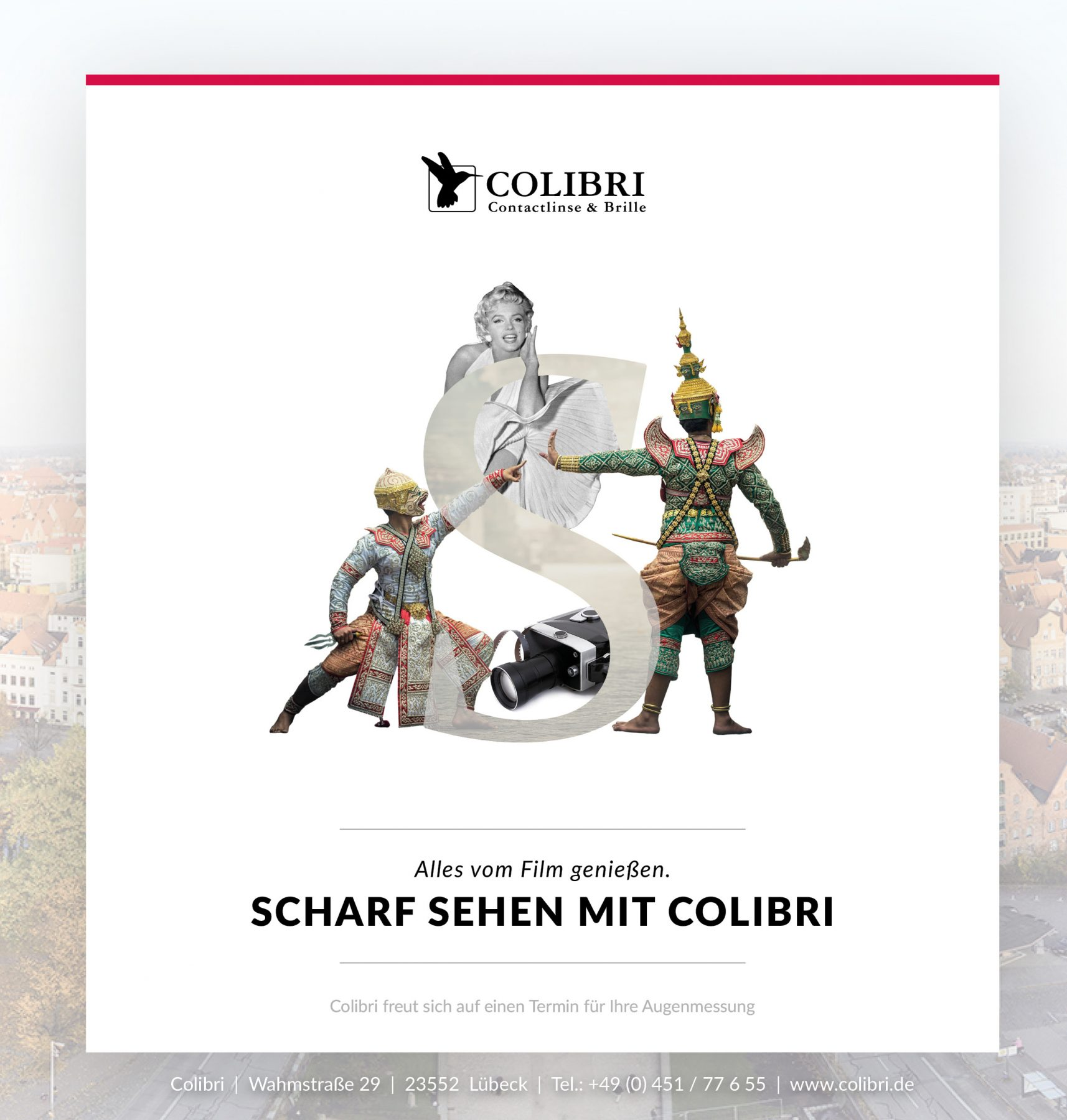 Colibri freut sich auf die nordischen Filmtage Lübeck